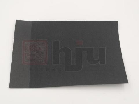 黑卡纸涂触感油效果