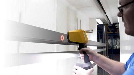 手持非接触式测厚仪测量不受底材限制