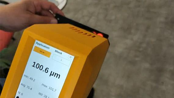 Coatmaster Flex手持非接触式测厚仪不受涂层颜色限制